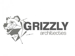 CARTE POSTALE GRIZZLY ARCHITECTE